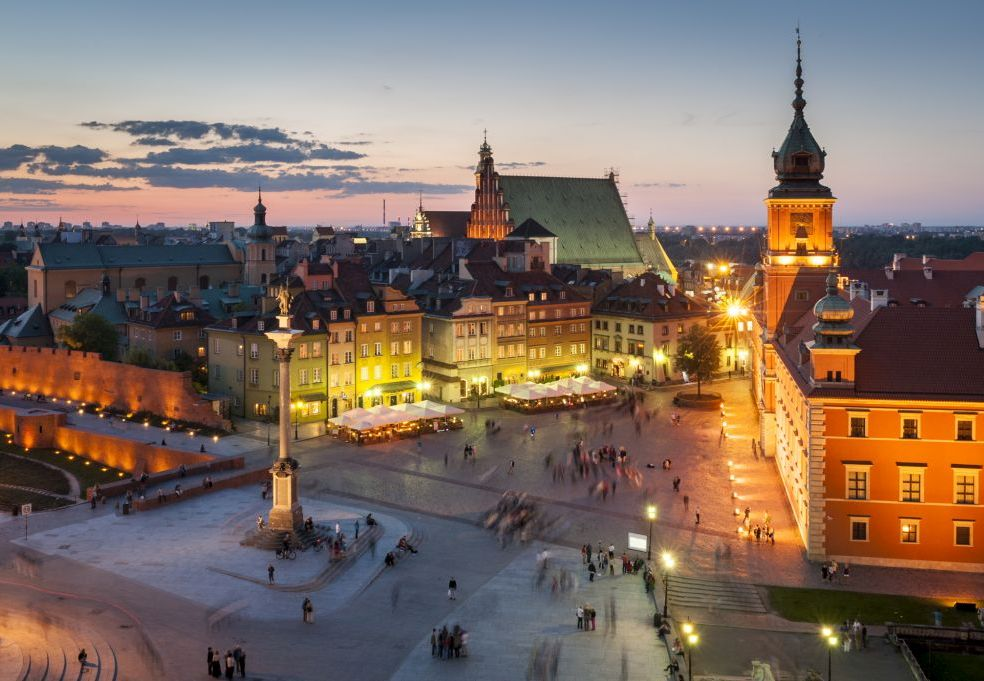 Warsaw must see