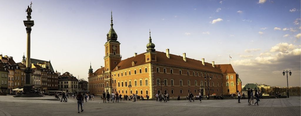 Warsaw sightseeing - royal castle
