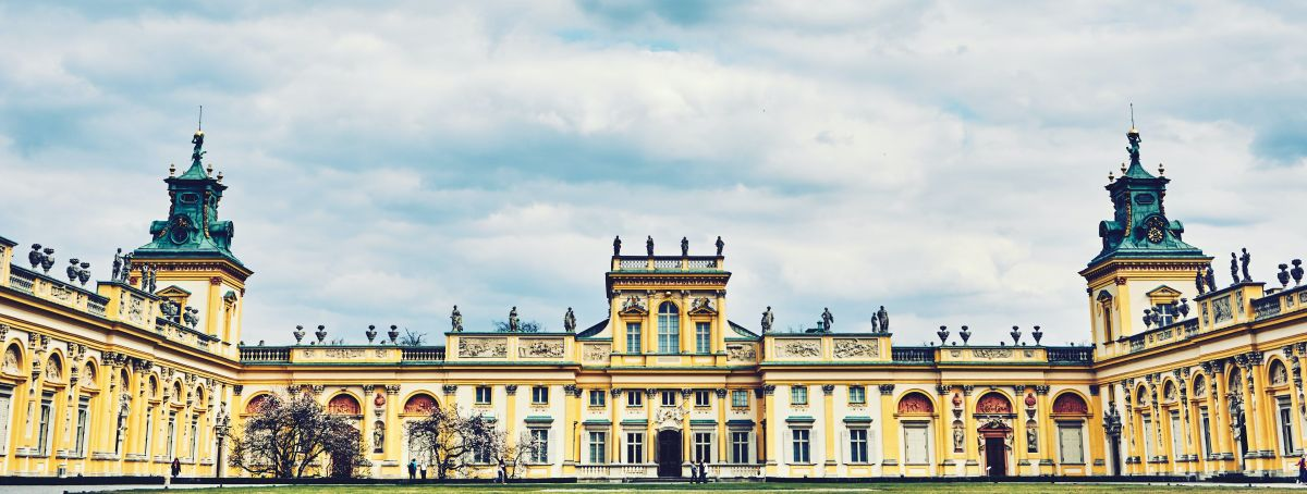 wilanow palace in warsaw